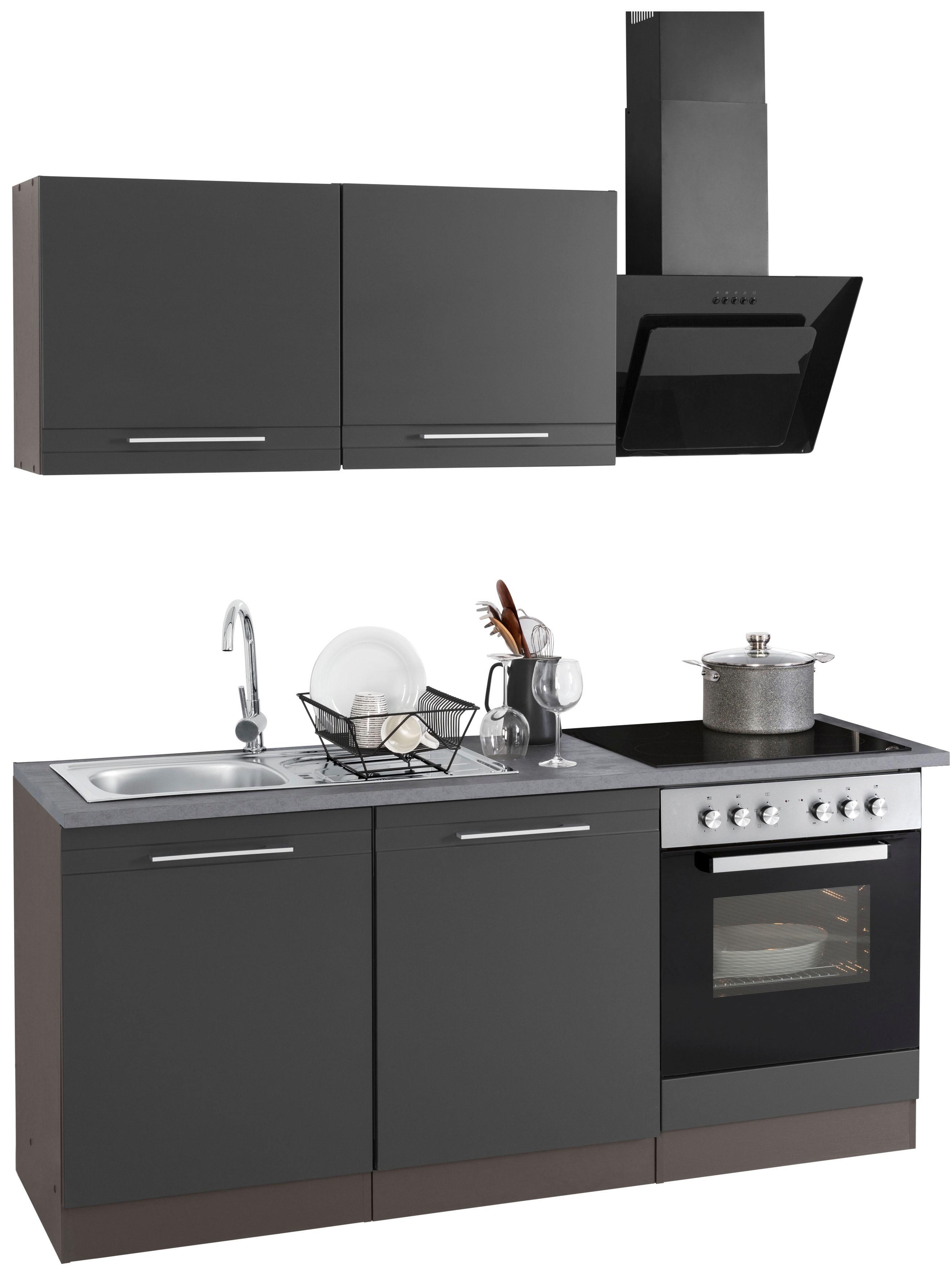Bildquelle: HELD MÖBEL Küchenzeile »Mito«, Mit E Geräten, Breite 180 Cm