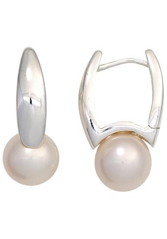 JOBO Perlenohrringe, 925 Silber mit Süßwasser-Zuchtperlen kaufen