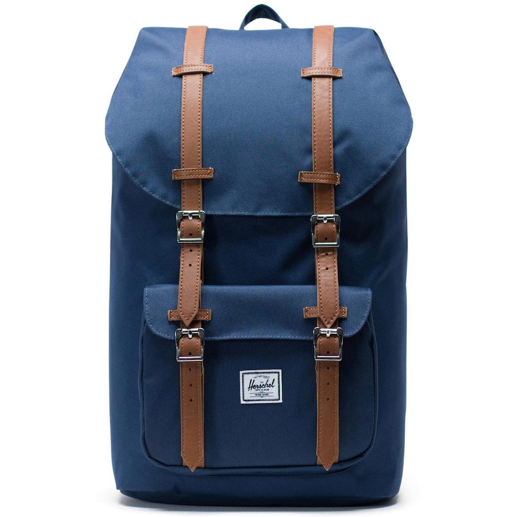 Herschel Laptoprucksack »Little America, Navy/Tan«