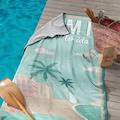 Seahorse Strandtuch »Miami«, (1 St.), mit Miami Beach Aufdruck