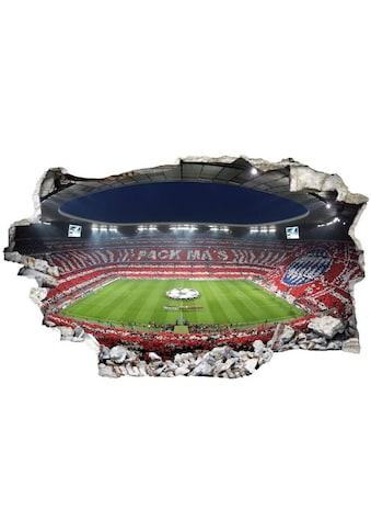 Wall-Art Wandtattoo »FCB Stadion Pack Ma's« kaufen
