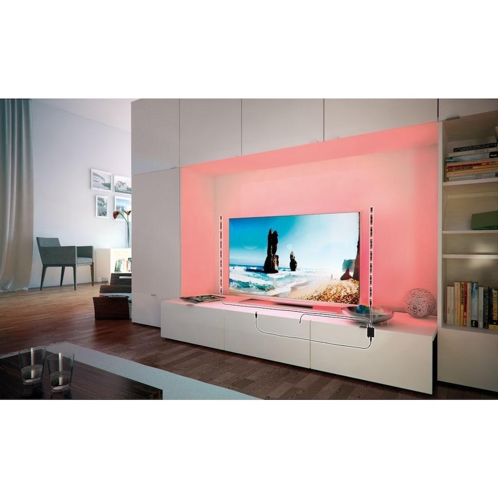 Paulmann LED-Streifen »bunt USB dimmbar Farbwechsel RGB 2x50cm«, 2 St.-flammig