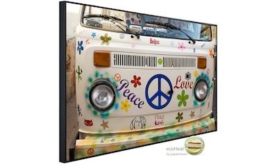 Papermoon Infrarotheizung »Frieden und Liebe«, sehr angenehme Strahlungswärme kaufen
