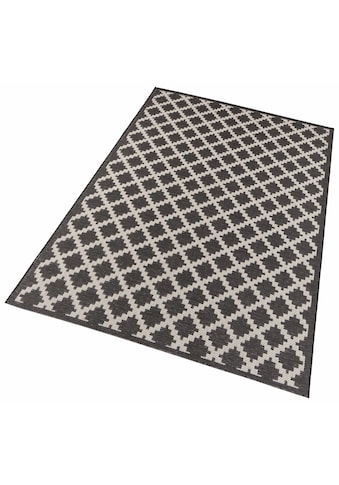 freundin Home Collection Teppich »Dawn«, rechteckig, 4 mm Höhe, Flachgewebe,... kaufen