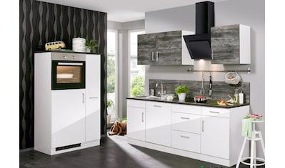 HELD MÖBEL Küchenzeile »Philadelphia«, mit E - Geräten, Breite 310 cm kaufen