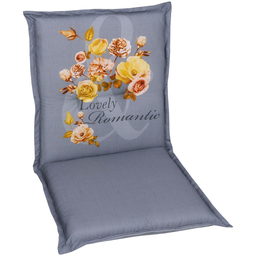 GO-DE Sesselauflage, 100 x 50 cm, nieder