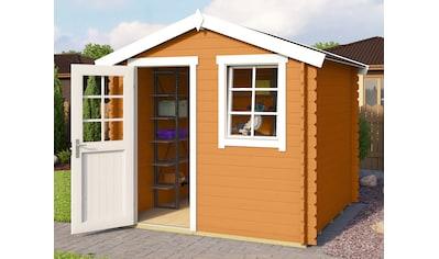 OUTDOOR LIFE PRODUCTS Gartenhaus »Mosel 2«, BxT: 250x250 cm, inkl. Fußboden kaufen