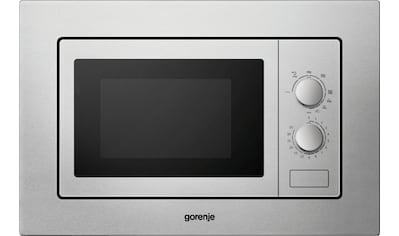 GORENJE, Einbau - Mikrowelle »BM171E2X«, Grill Mikrowelle kaufen