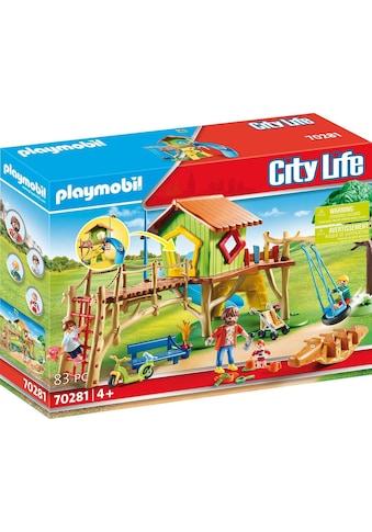 Playmobil® Konstruktions-Spielset »Abenteuerspielplatz (70281), City Life«, (83 St.),... kaufen