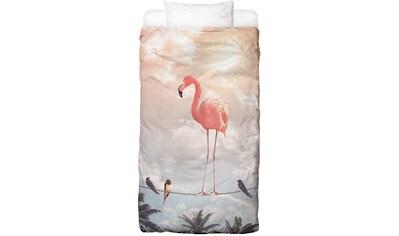 Bettwäsche »Flamingo and Friends«, Juniqe kaufen