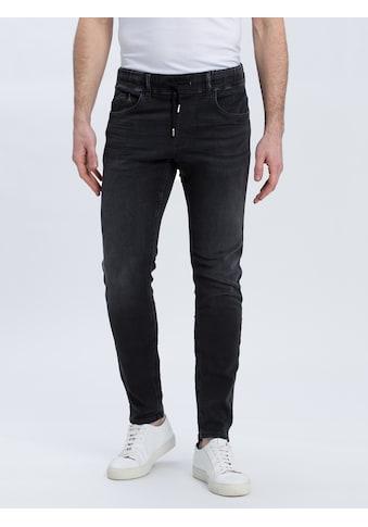 Cross Jeans® Slim-fit-Jeans »Jimi«, Stretchbund mit Kordelzug kaufen