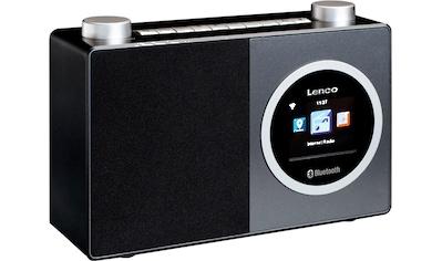 Lenco Internet-Radio »DIR-70«, (Bluetooth-WLAN Digitalradio (DAB+)-FM-Tuner-Internetradio 3 W) kaufen