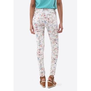 kaporal jeans mit floralem muster in bunt im online shop von baur versand - Jeans Mit Muster