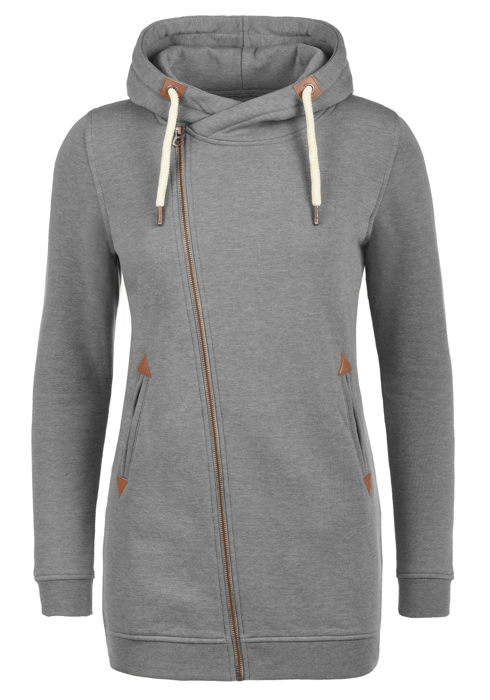 DESIRES Kapuzensweatjacke Vicky Zip Hood Long   Bekleidung > Sweatshirts & -jacken > Hoodies   Desires