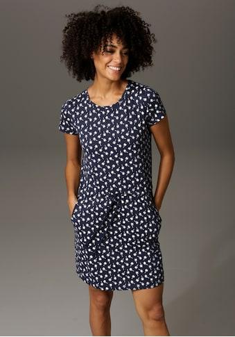Aniston CASUAL Sommerkleid, mit Palmen oder Punkten bedruckt - Du hast die Wahl - NEUE... kaufen