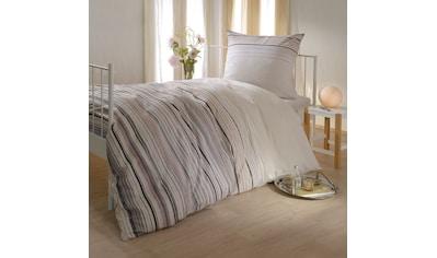 BETTWARENSHOP Bettwäsche »Streifen«, kuschlig warm und weich kaufen