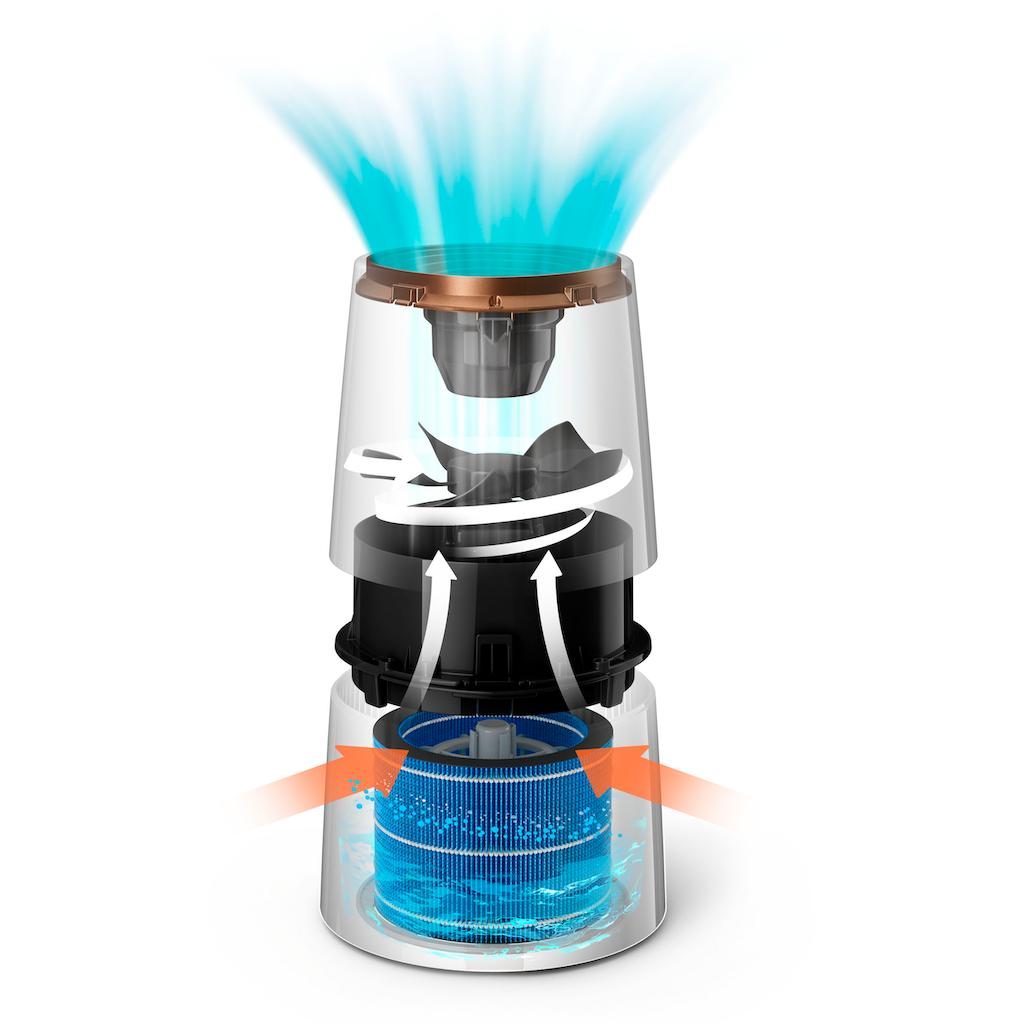 Philips Luftbefeuchter »3000 series HU3918/10«, 3 l Wassertank, mit NanoCloud Technologie