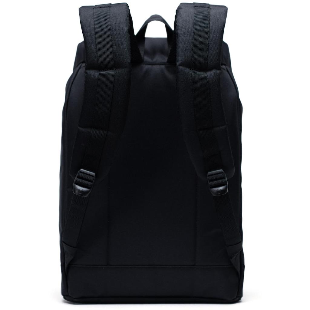 Herschel Laptoprucksack »Retreat, Black/Black/Tan«