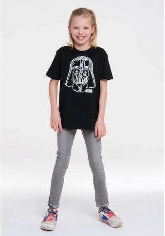 LOGOSHIRT T-Shirt »Darth Vader - Portrait«, mit Darth Vader-Print kaufen