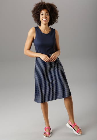 Aniston SELECTED Sommerkleid, im maritimen Stil - NEUE KOLLEKTION kaufen