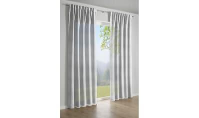 Vorhang, »Jaquard - Voile«, GARDINIA, verdeckte Schlaufen 1 Stück kaufen