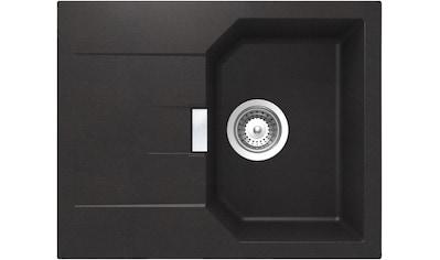 SCHOCK Granitspüle »Lucca«, ohne Restebecken, 64 x 51 cm kaufen