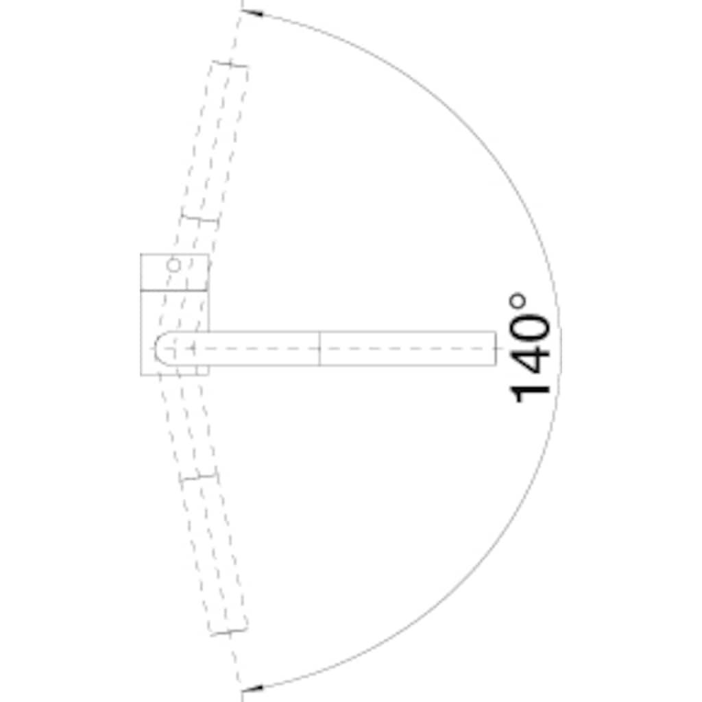 Blanco Küchenarmatur »LINUS-S Vario«, Hochdruck, mit herausziehbarer Zweistrahlbrause