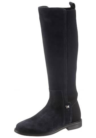 TOMMY HILFIGER Stiefel »ESSENTIAL FLAT LONG BOOT« kaufen