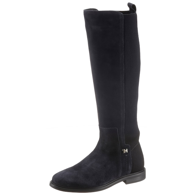TOMMY HILFIGER Stiefel »ESSENTIAL FLAT LONG BOOT«
