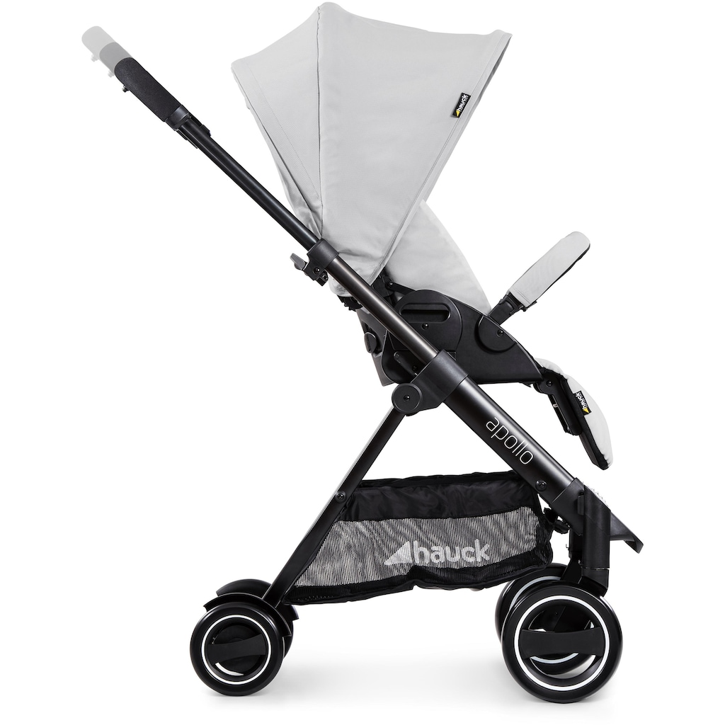 Hauck Sportbuggy »Apollo Duo Set, lunar«, inkl. Babywanne und Beindecke; Kinderwagen, Buggy, Sportwagen, Kinder-Buggy, Kinderbuggy, Sport-Kinderwagen
