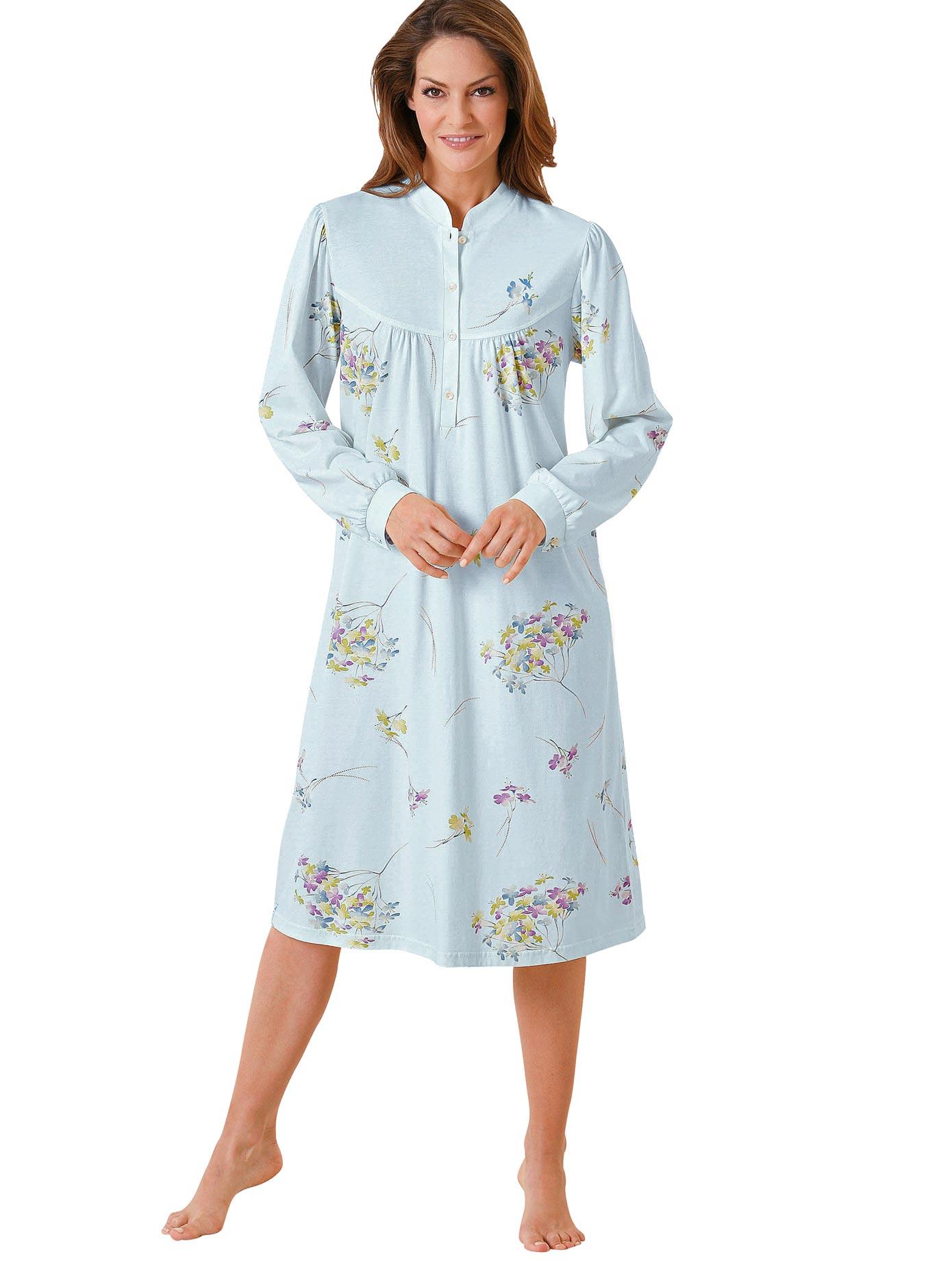 Ringella Nachthemd | Bekleidung > Nachtwäsche > Nachthemden | Blau | Ringella