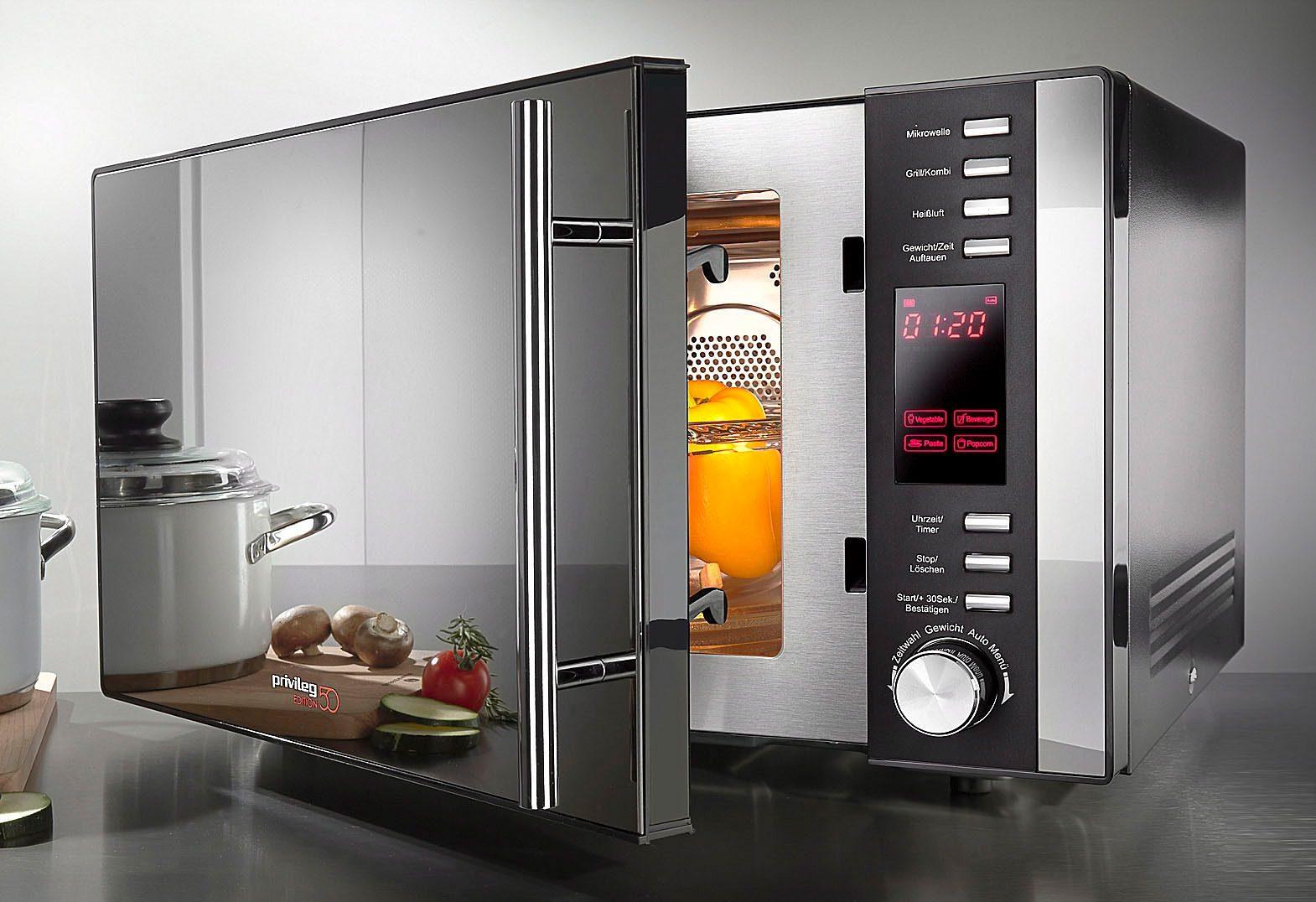Privileg Mikrowelle AC925EBL 900 W | Küche und Esszimmer > Küchenelektrogeräte > Mikrowellen | Schwarz