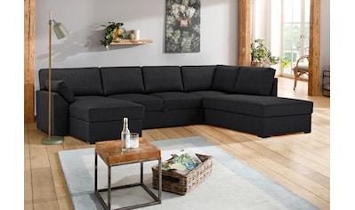 Premium collection by Home affaire Wohnlandschaft »Garda«, mit Bettfunktion und... kaufen