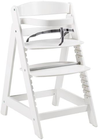 roba® Hochstuhl »Treppenhochstuhl Sit Up Click, weiß«, aus Holz kaufen