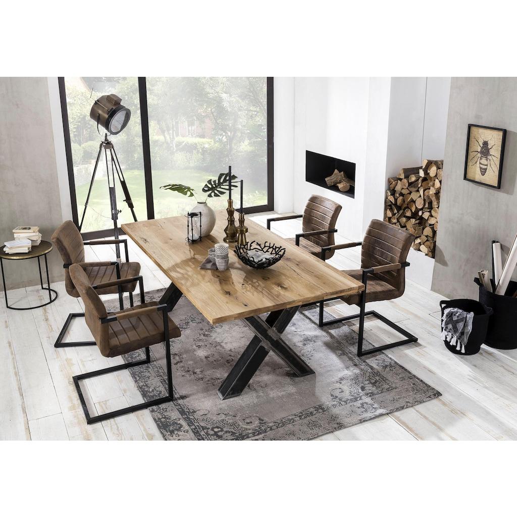 SIT Esstisch »Tables«, mit Platte aus Wildeiche natur