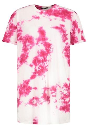 Stitch & Soul Rundhalsshirt, mit Batik-Print kaufen