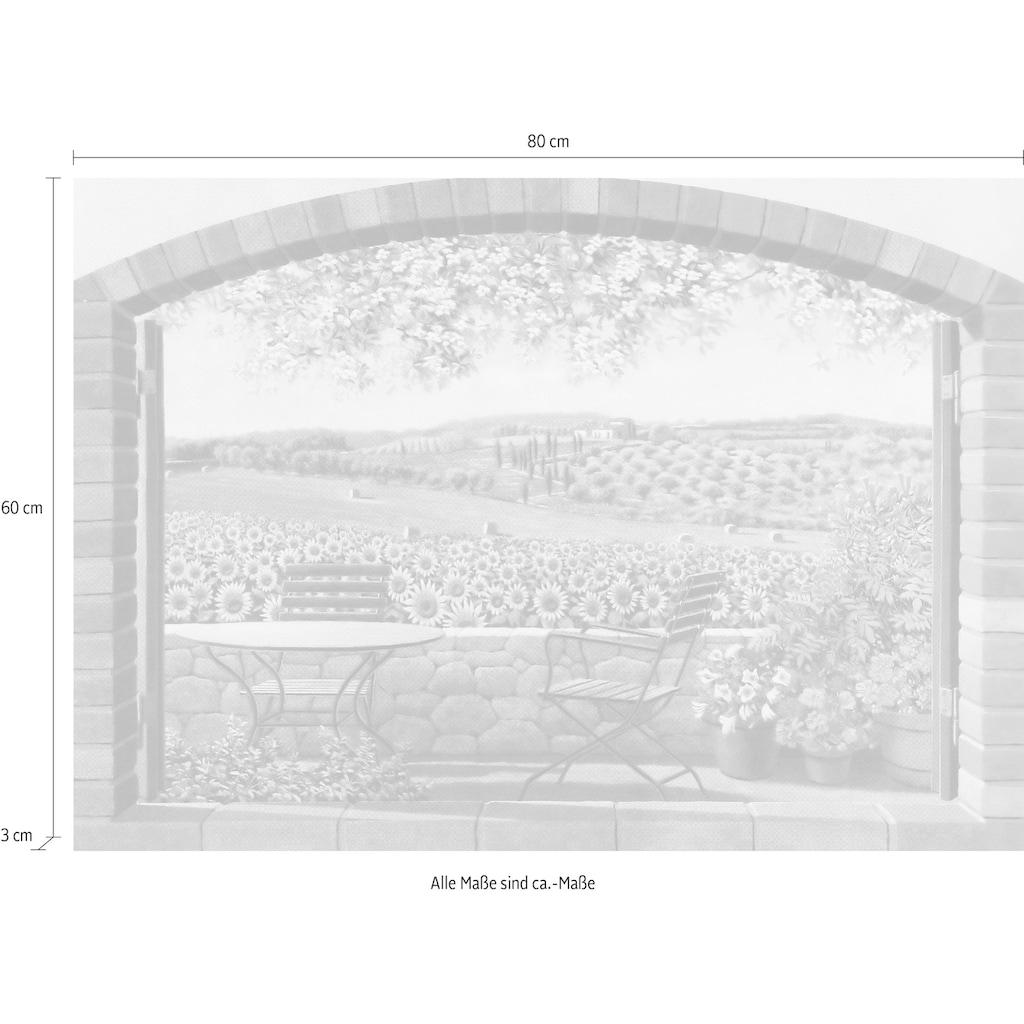 Home affaire Deco-Panel »ANDREA DEL MISSIER / Verso le colline«, (80/3/60 cm)