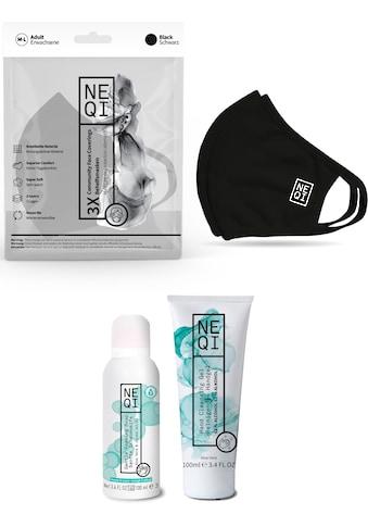 NEQI Community-Maske, inkl. feuchtigkeitsspendende Handseife und Handreinigungsgel kaufen
