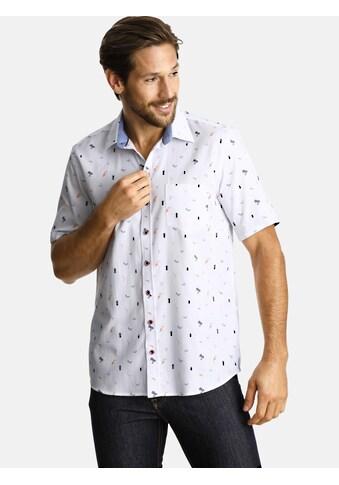SHIRTMASTER Kurzarmhemd »cocktailinspiration«, strukturierte Stoffqualität kaufen