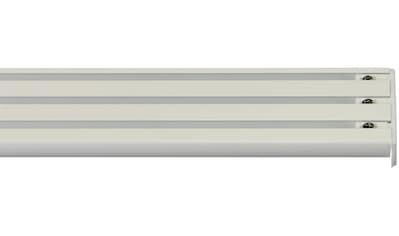 GARESA Gardinenschiene »Flächenvorhangschiene 2 - 5 lauf, spezial«, 3 läufig-läufig, Wunschmaßlänge kaufen