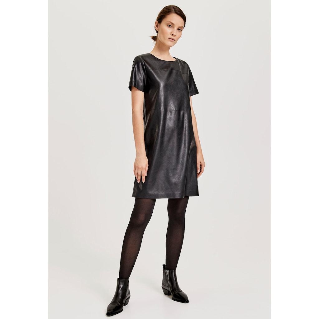 OPUS A-Linien-Kleid »Wasine«, aus weichem Leder-Imitat