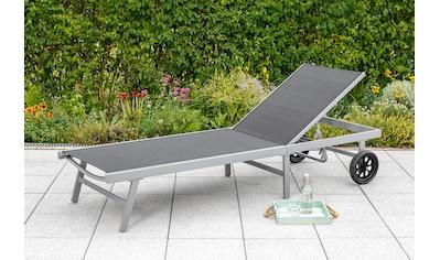 MERXX Gartenliege Alu/Textil, verstellbar kaufen
