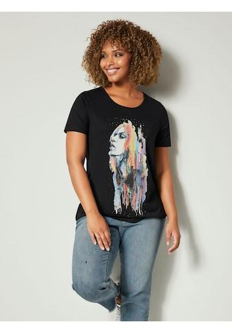 Angel of Style by HAPPYsize Shirt mit Strasssteinen kaufen