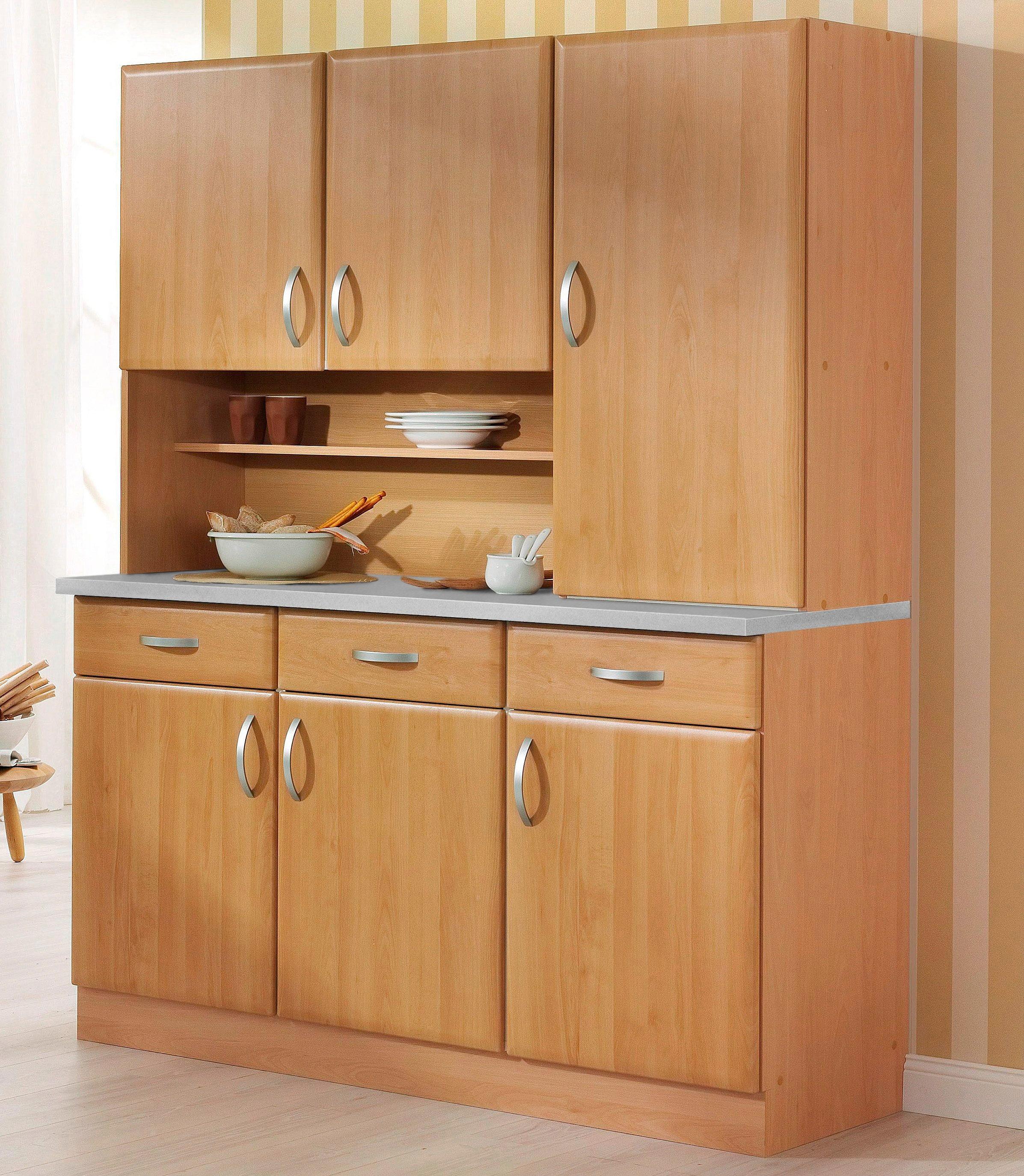wiho Küchen Küchenbuffet Küchenbuffet Prag Breite 150 cm