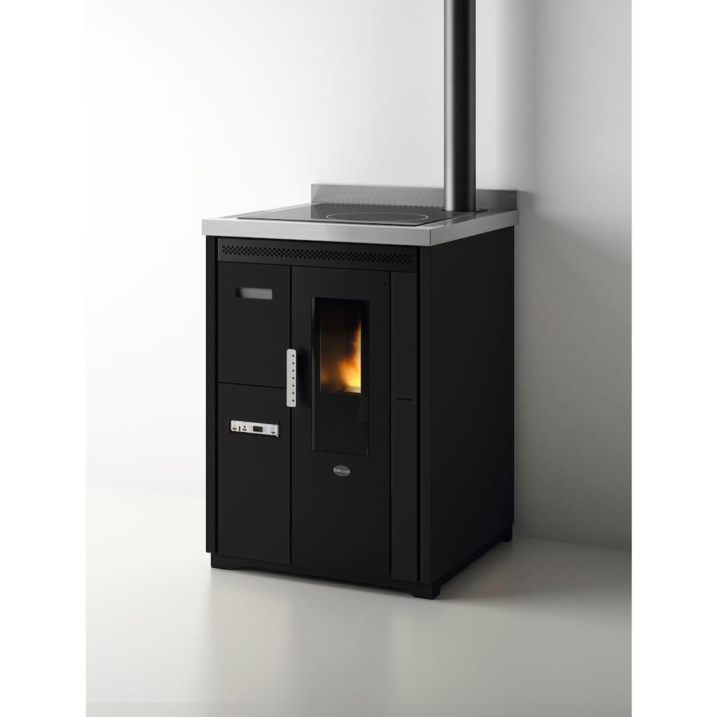 Blaze Pelletofen »Küchenherd Nina«, schwarz