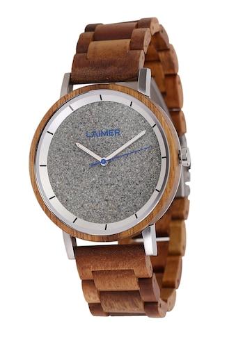 LAiMER Quarzuhr »Holzuhr Ludwig« kaufen