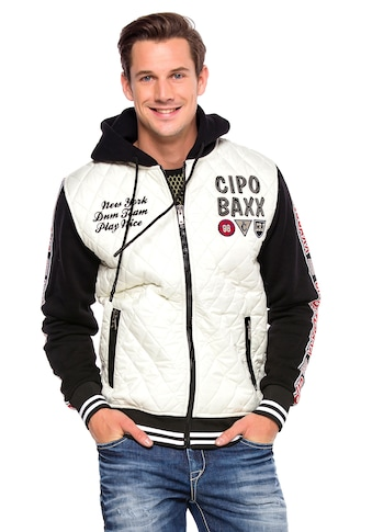Cipo & Baxx Outdoorjacke, in coolem Jeans-Look kaufen