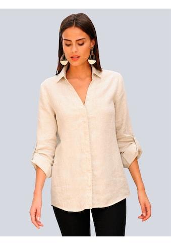 Alba Moda Hemdbluse aus Leinen kaufen