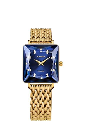 JOWISSA Schweizer Uhr »Facet Princess«, mit Steinbesatz kaufen