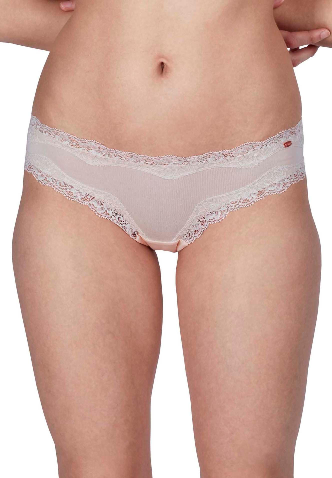 Skiny Skiny Damen Rio Slip Bella mit Spitzen-Details